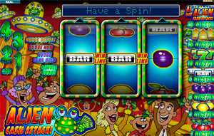 Alien Cash Attack video slot