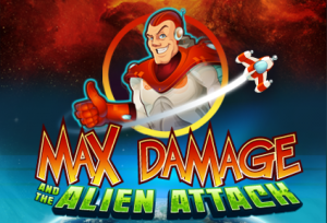 Max Damage and the ALien Attack video slot